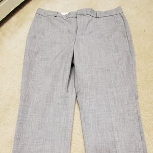 Gray Banana Republic dress pants